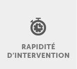 Rapidité d'intervention